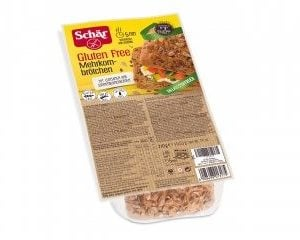 Schär Mehrkornbrötchen Meergranen Broodjes 210 gram (4 stuks)