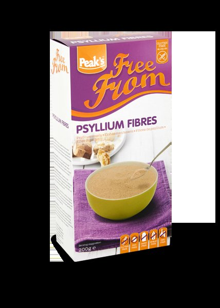 Peak's Free From Psylliumvezels 200 gram
