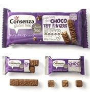 Consenza Choco Teff Fingers 100 gram (5x20gram)