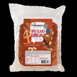 Consenza Speculaasbrokken 160 gram (3 stuks)