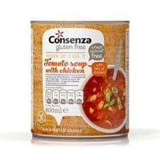 Consenza Tomatensoep met stukjes kip 800 ml