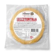 Consenza Tortilla Mais 181 gram (12 stuks)