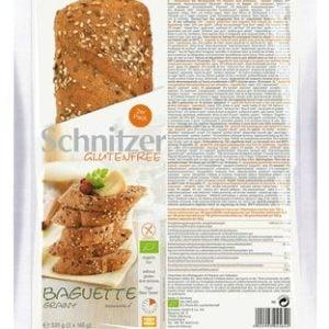 Schnitzer Baguette Grainy 320 gram, meerzaden baquette (2 stuks)