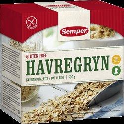 Semper Havregryn Havermout 500 gram