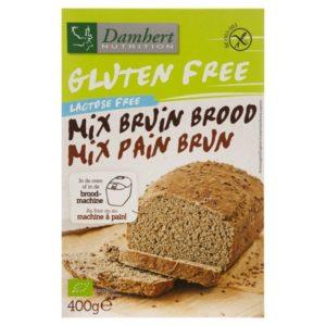 Damhert Broodmix Bruin Biologisch 400 gram