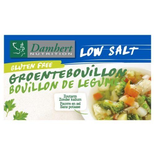Damhert Glutenvrij Groentebouillonblokjes Zoutarm 64 gram