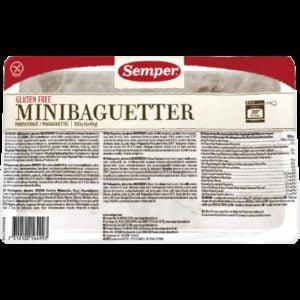 Semper Minibaguette Wit 300 gram (6 stuks)