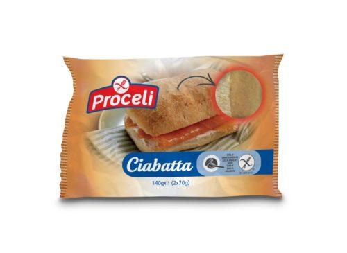 Proceli Ciabatta 140 gram (2 stuks)