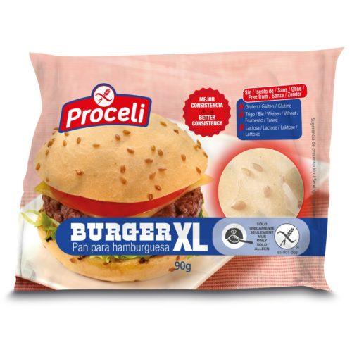 Proceli Hamburgerbroodje XL 90 gram (1 stuks)