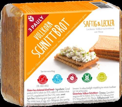 3 Pauly Volkorenbrood 500 gram