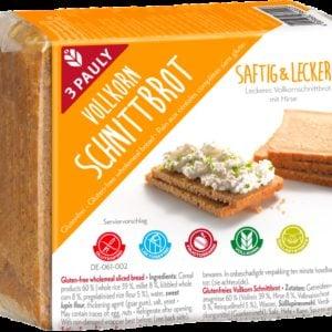 3 Pauly Volkorenbrood met Teff 500 gram