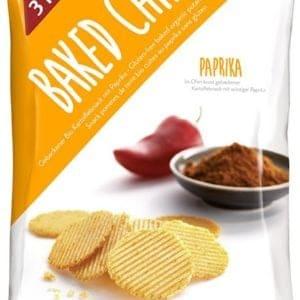 3 Pauly Paprikachips Biologisch 85 gram
